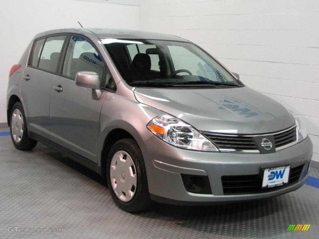 2009 Magnetic Gray Nissan Versa 1 8 S Hatchback 31332170 Gtcarlot Com Car Color Galleries