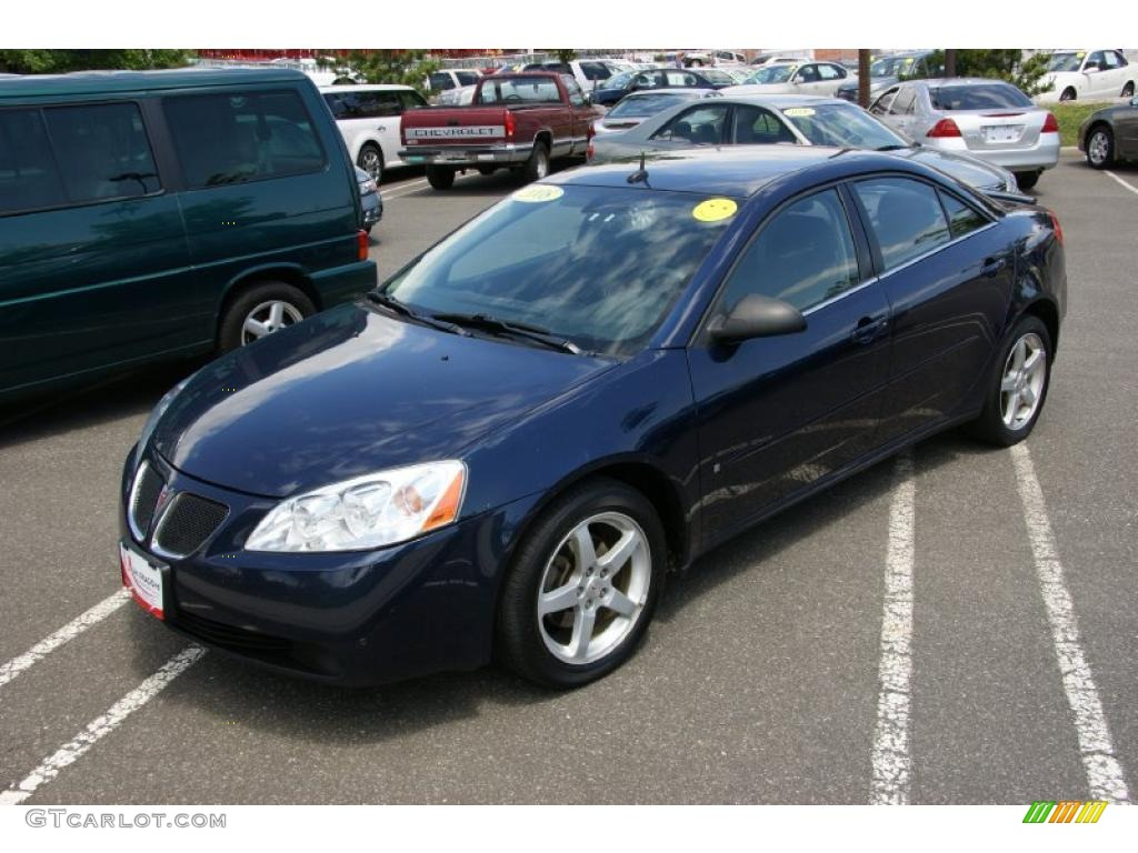 2008 Midnight Blue Metallic Pontiac G6 V6 Sedan 31331932