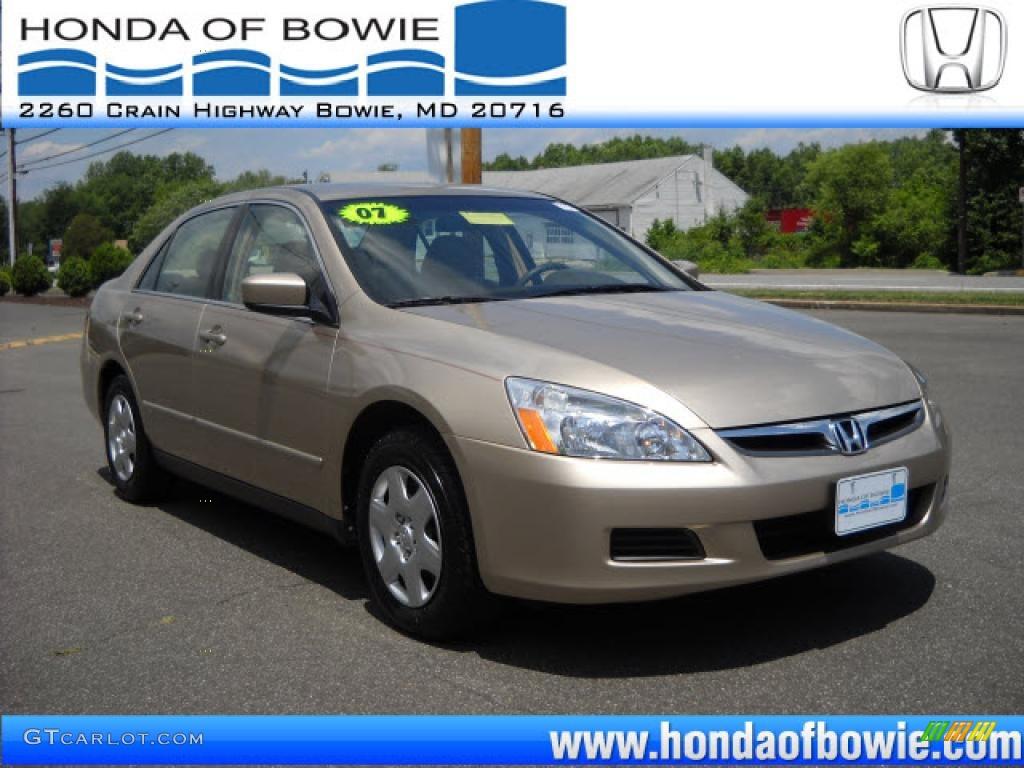 2007 desert mist metallic honda accord lx sedan 31391841 for 2007 honda accord lx sedan