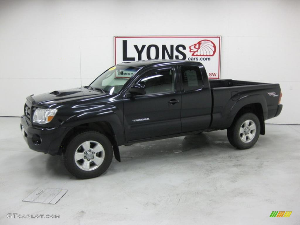 2005 black sand pearl toyota tacoma v6 trd sport access. Black Bedroom Furniture Sets. Home Design Ideas