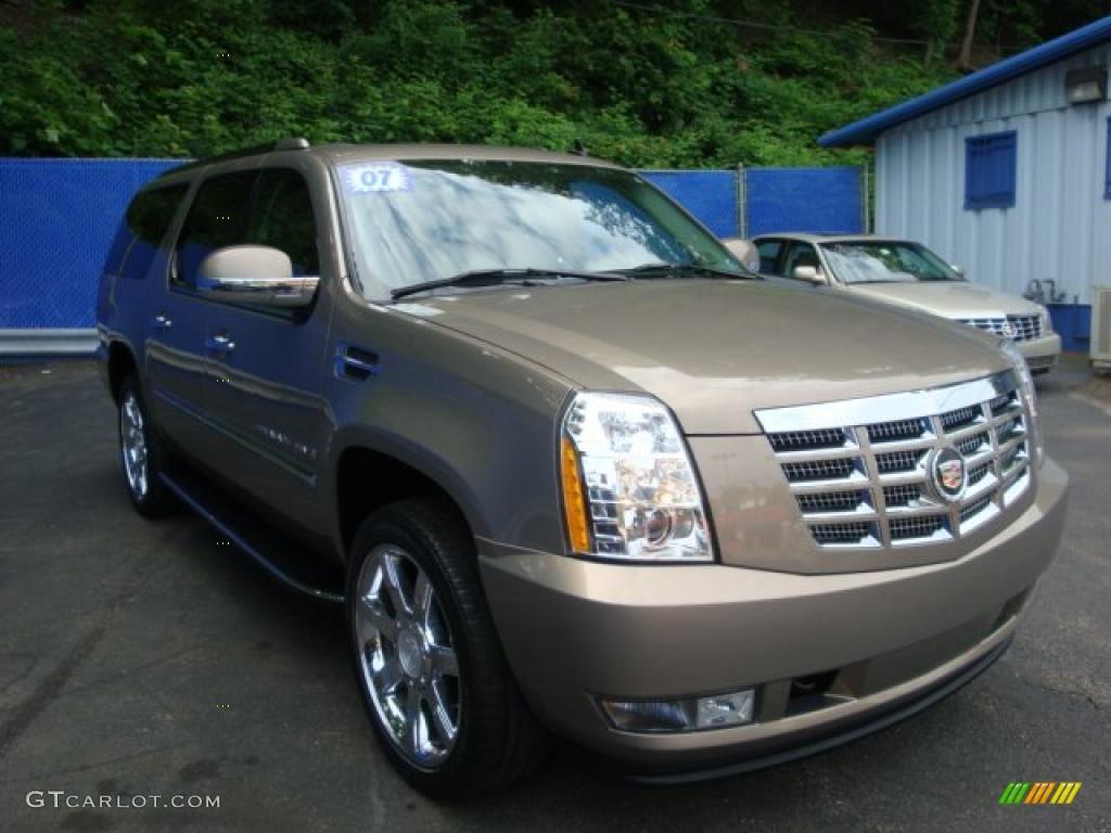 2007 Radiant Bronze Cadillac Escalade Esv Awd 31392225 Photo 6 Car Color