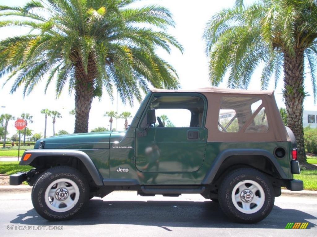 1999 Medium Fern Green Pearlcoat Jeep Wrangler SE 4x4 ...