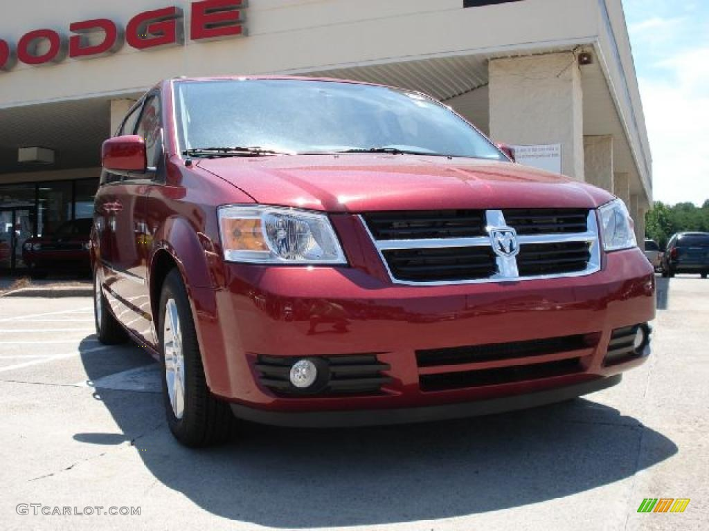 2010 grand caravan sxt inferno red crystal pearl medium slate gray light shale
