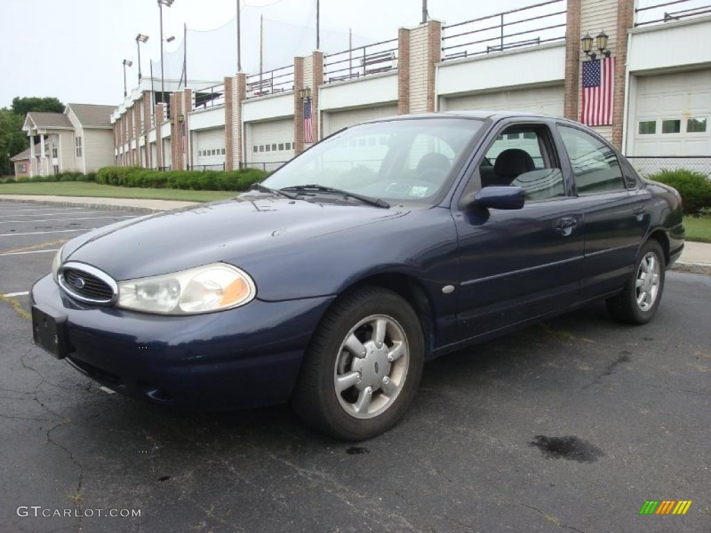 on 1998 Ford Contour Green