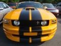 2007 Grabber Orange Ford Mustang V6 Deluxe Coupe  photo #2