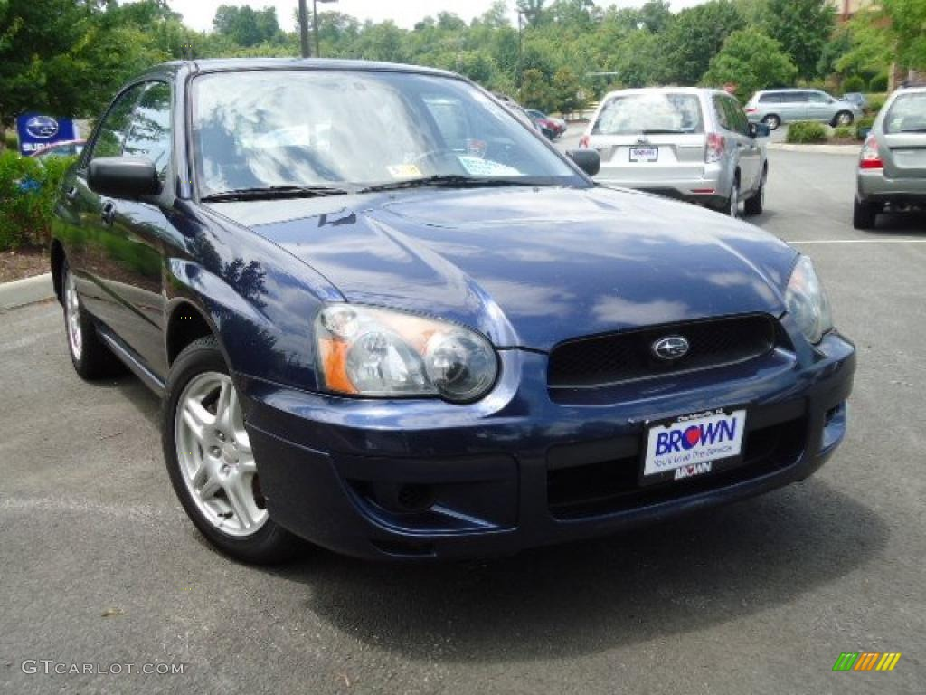2005 regal blue pearl subaru impreza 2 5 rs sedan. Black Bedroom Furniture Sets. Home Design Ideas