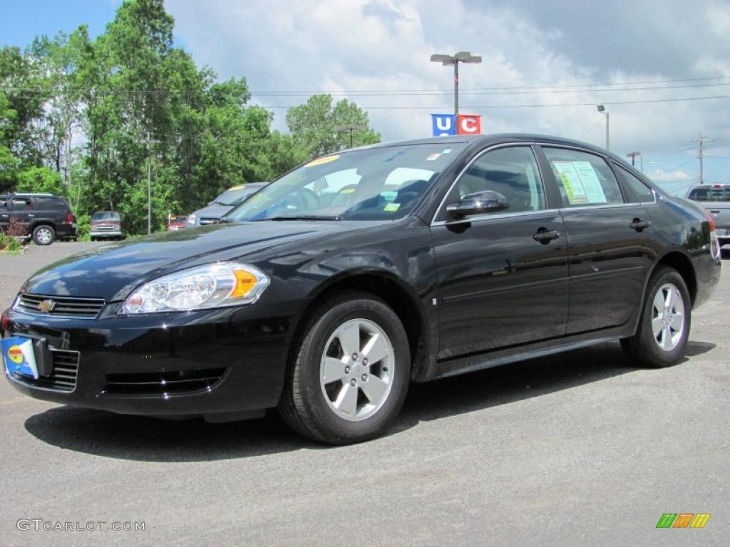 2009 Black Chevrolet Impala LT #31426619 | GTCarLot.com - Car Color Galleries