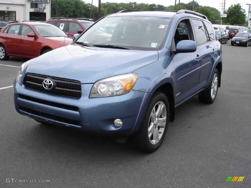 2006 pacific blue metallic toyota rav4 sport 4wd 31426032 car color galleries. Black Bedroom Furniture Sets. Home Design Ideas