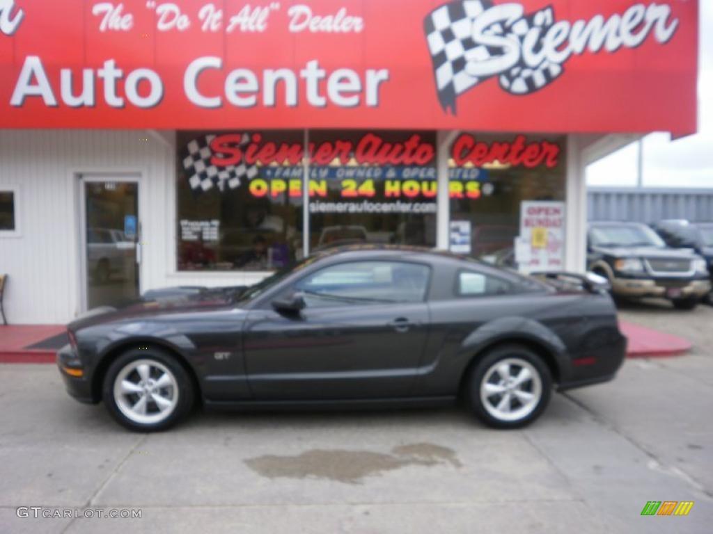 2007 Mustang GT Premium Coupe - Alloy Metallic / Dark Charcoal photo #1