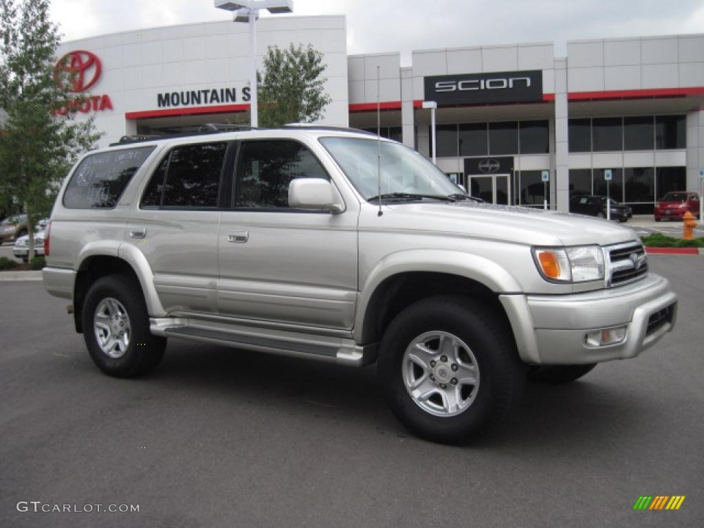 1999 4Runner Limited 4x4   Millennium Silver Metallic / Oak Photo #1