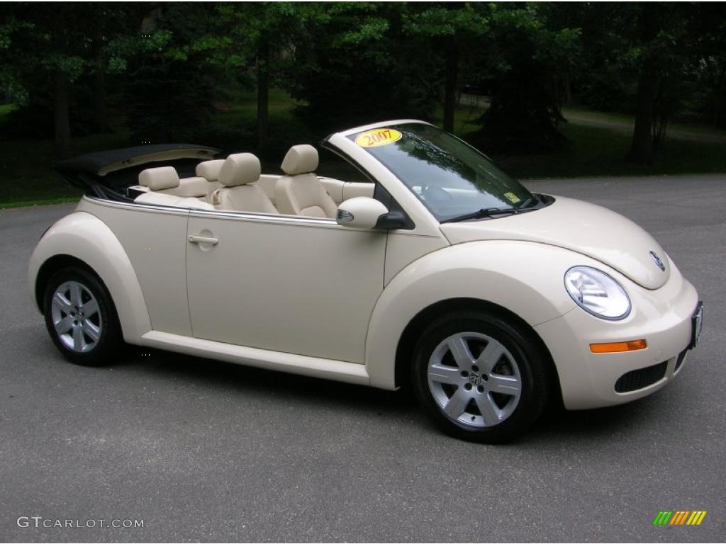 2007 Harvest Moon Beige Volkswagen New Beetle 2.5 Convertible #31478497 | GTCarLot.com - Car ...