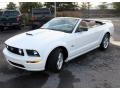 2007 Performance White Ford Mustang GT Premium Convertible  photo #1