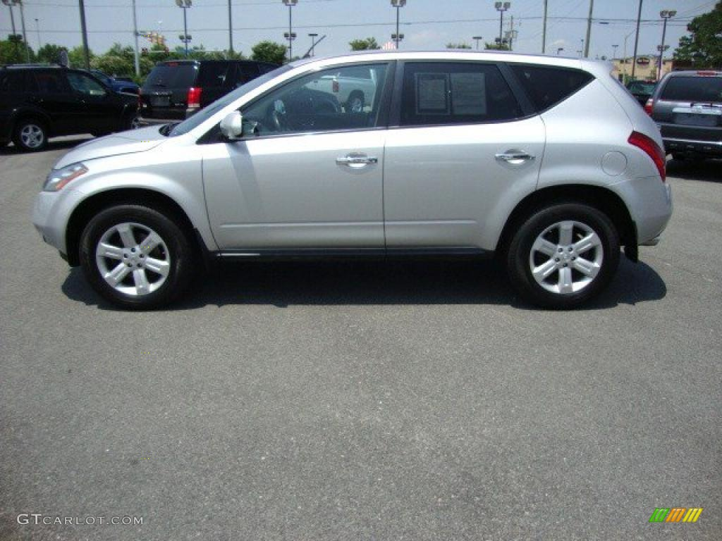 2007 Murano SE AWD - Brilliant Silver Metallic / Charcoal photo #2