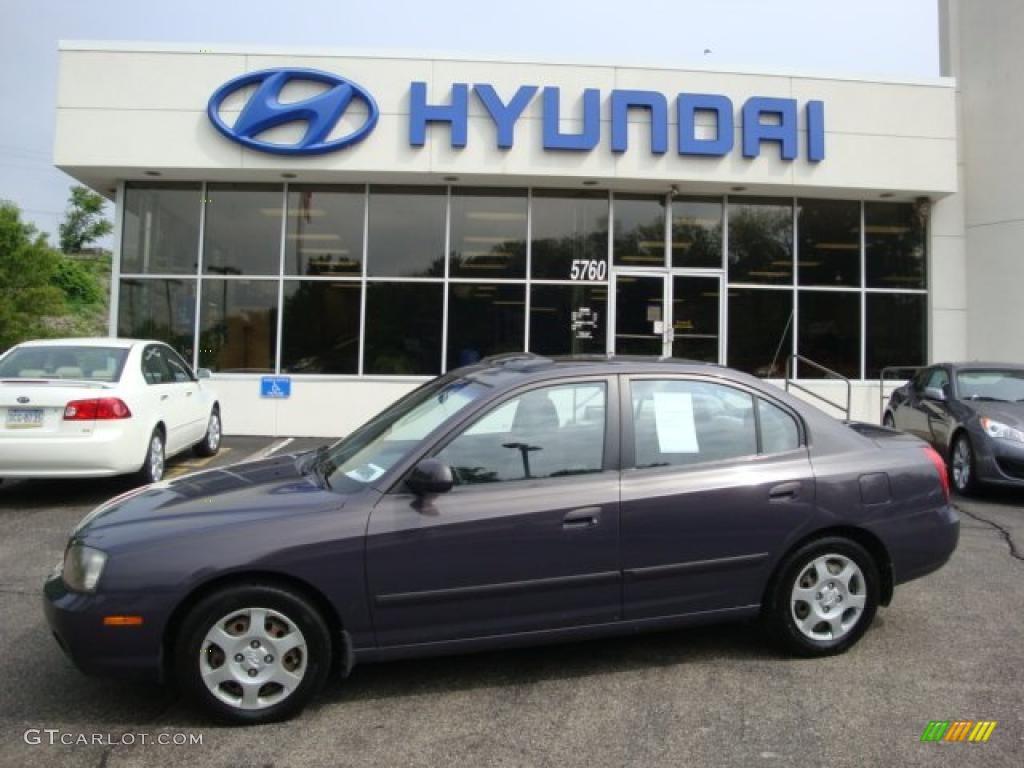 2002 Midnight Gray Hyundai Elantra Gls Sedan 31478151 Car Color Galleries