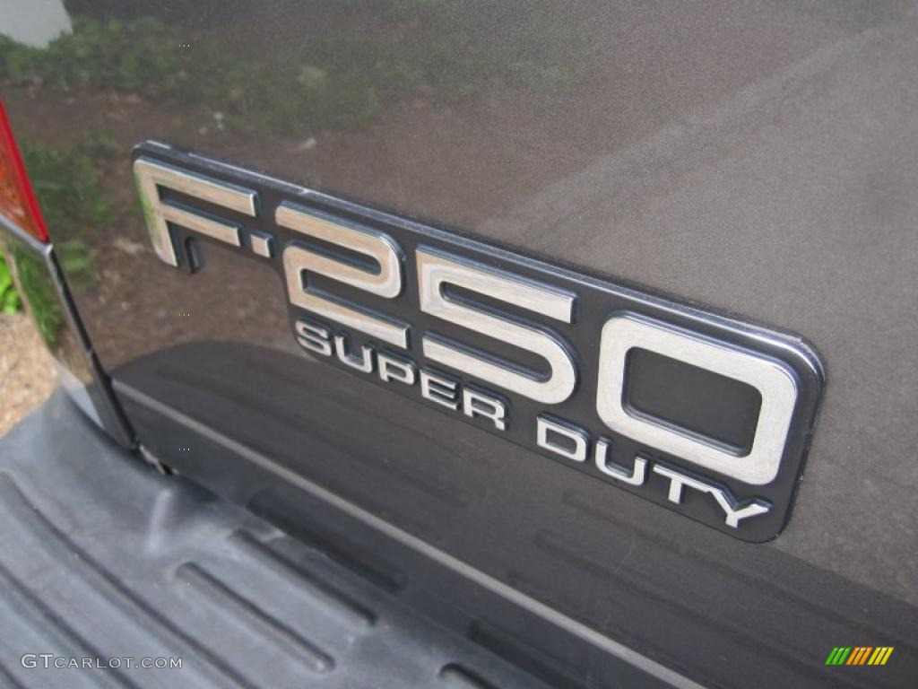 2004 F250 Super Duty XL Regular Cab 4x4 - Dark Shadow Grey Metallic / Medium Flint photo #5