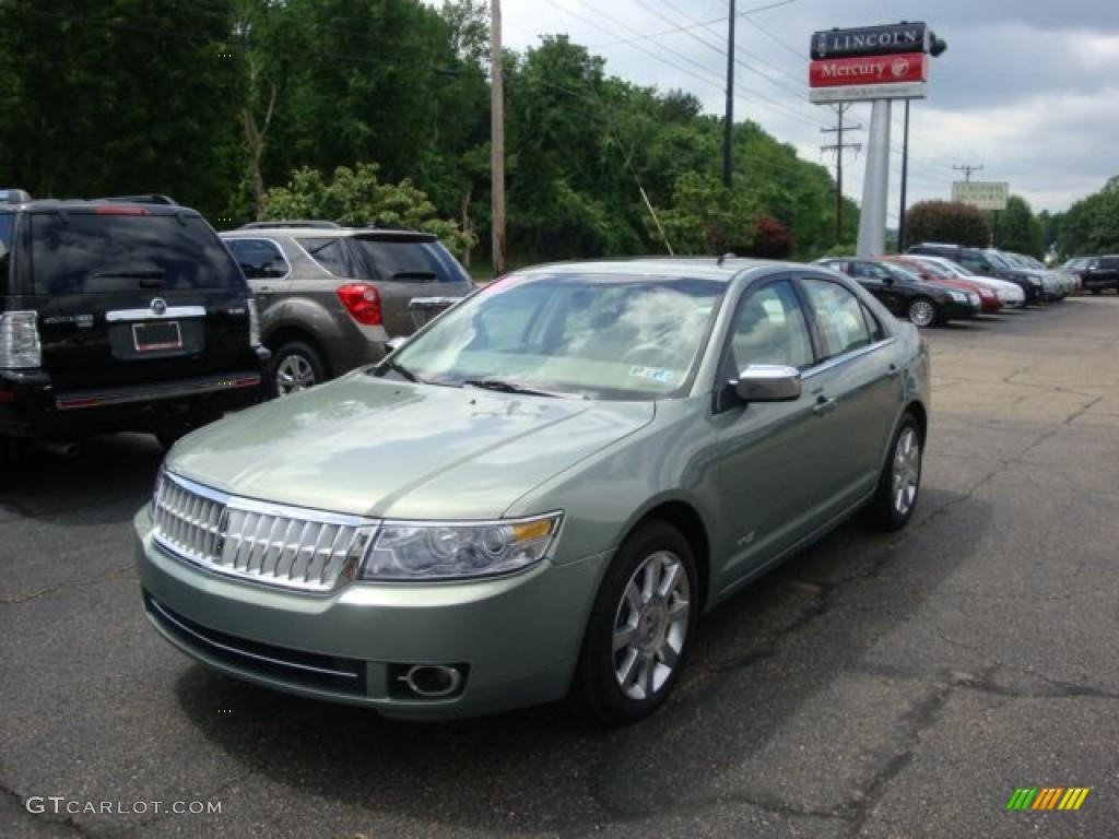 2009 Moss Green Metallic Lincoln MKZ AWD Sedan #31536570 | GTCarLot ...