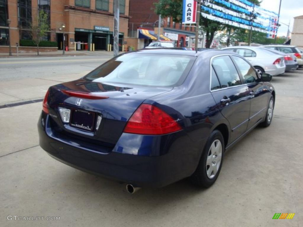 2007 royal blue pearl honda accord lx sedan 31536509 for 2007 honda accord lx sedan