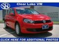 Tornado Red 2010 Volkswagen Golf Gallery