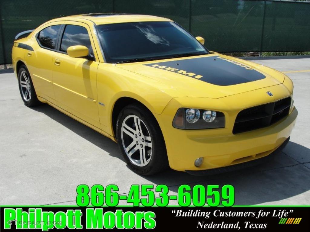 All Types 2006 charger daytona : 2006 Top Banana Yellow Dodge Charger R/T Daytona #31585140 ...