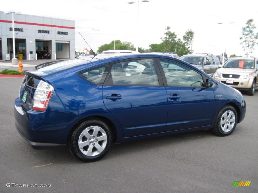2009 Spectra Blue Mica Toyota Prius Hybrid 31584806 Photo