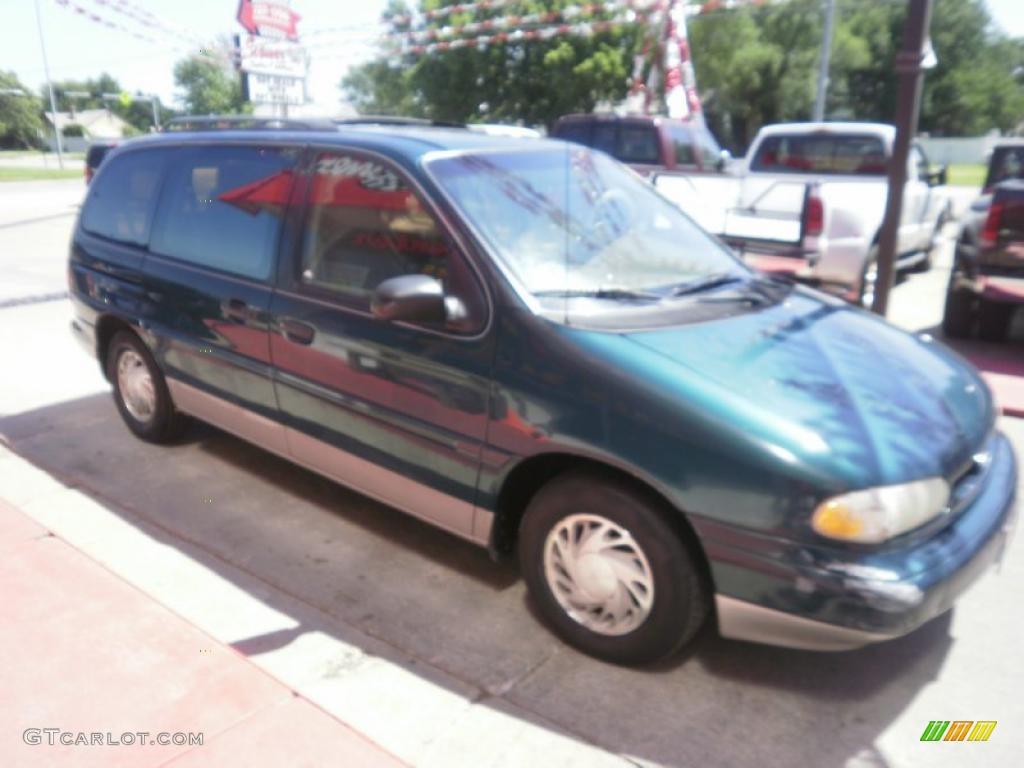 1995 deep jewel green metallic ford windstar lx 31585165. Black Bedroom Furniture Sets. Home Design Ideas