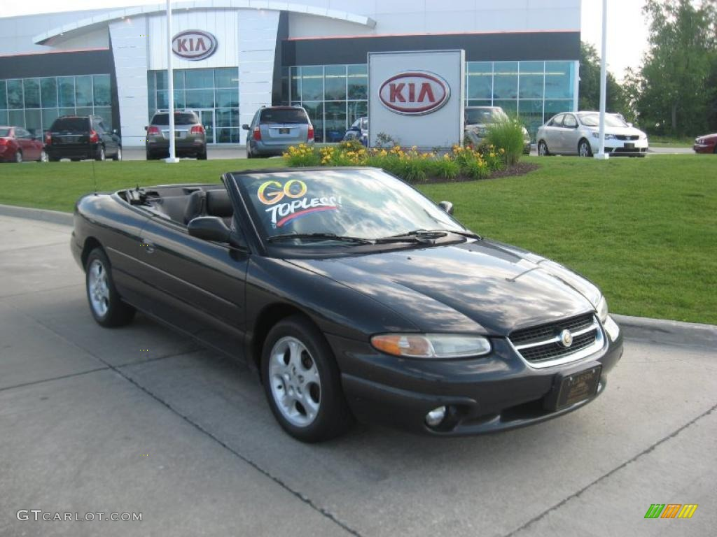 1998 Sebring Jxi Convertible Black Agate Photo 1