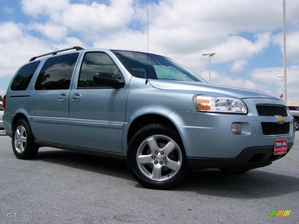2007 Chevy Uplander Ls 2007 Uplander LT - Polar Blue Metallic / Medium Gray photo #1