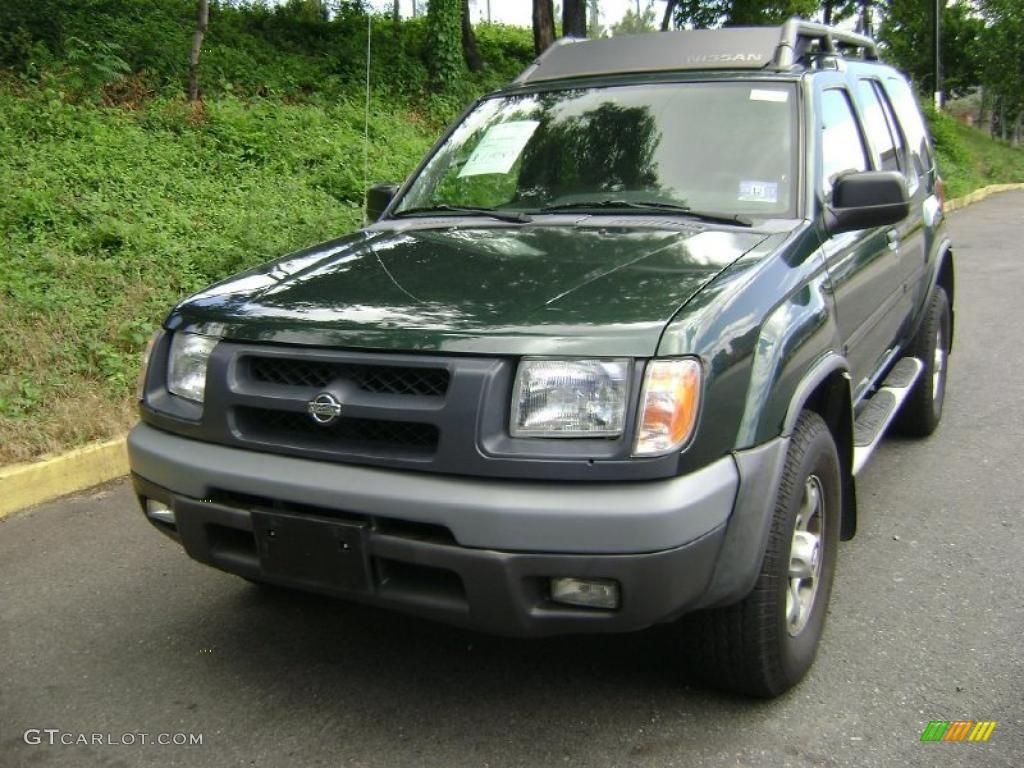 2000 Nissan Xterra Xe >> 2001 Alpine Green Metallic Nissan Xterra SE V6 #31585239 Photo #5 | GTCarLot.com - Car Color ...