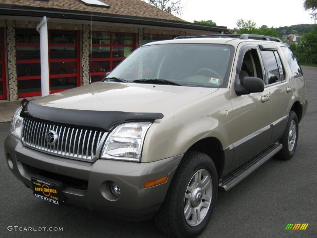 2003 Harvest Gold Metallic Mercury Mountaineer Convenience Awd 31585521 Car