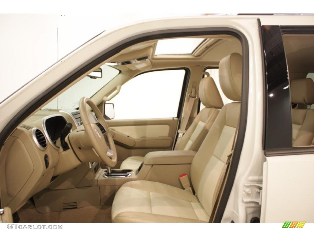 2010 mountaineer v6 awd white suede camel photo 9