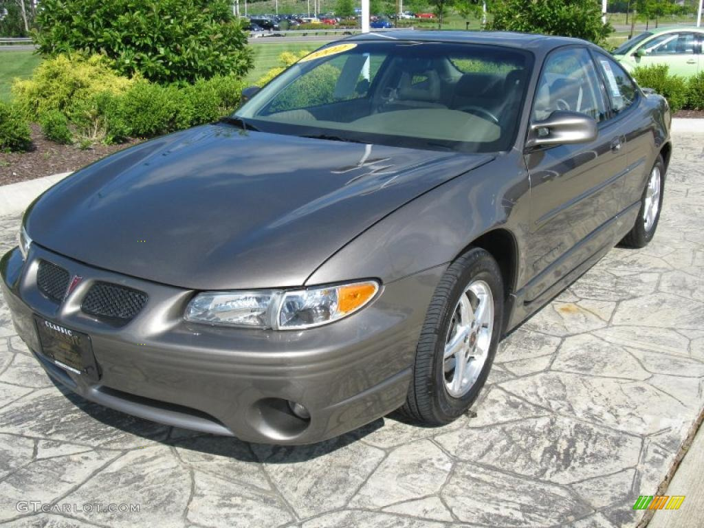 2002 dark bronzmist metallic pontiac grand prix gt coupe. Black Bedroom Furniture Sets. Home Design Ideas