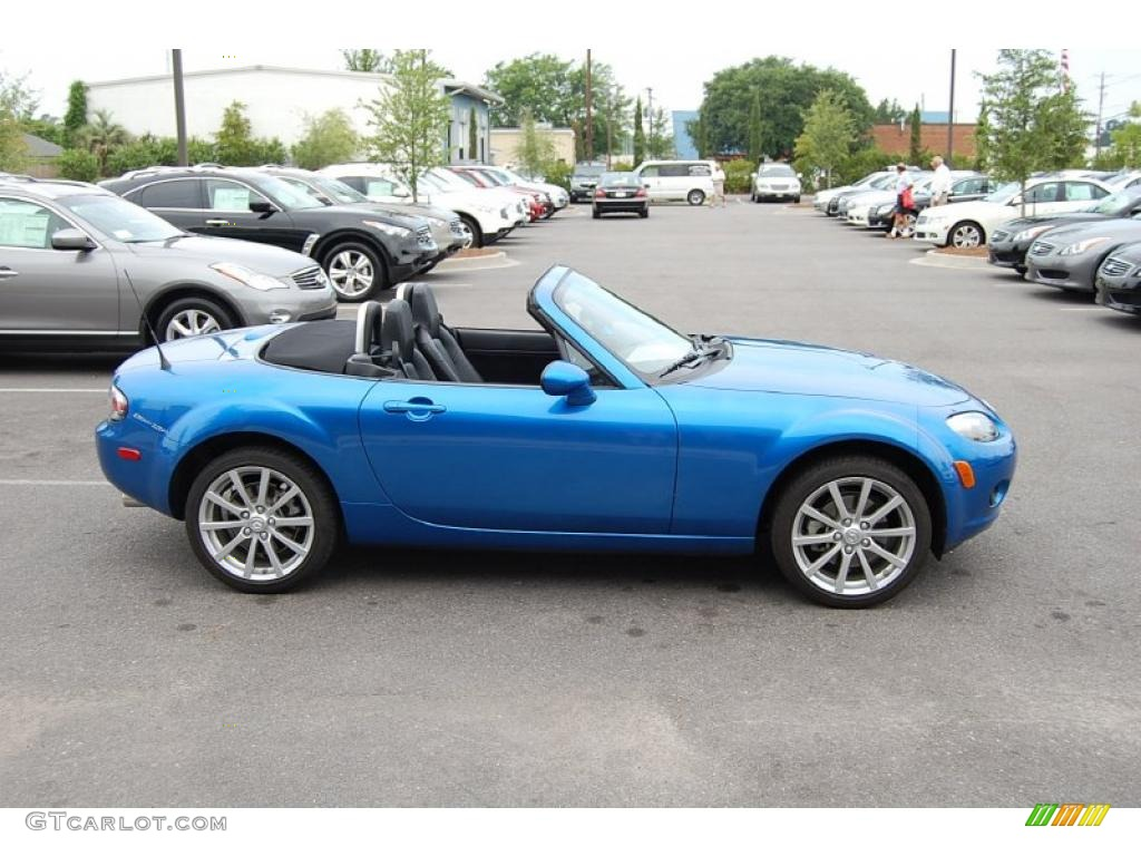 2006 winning blue metallic mazda mx 5 miata sport roadster 31644071 photo 15. Black Bedroom Furniture Sets. Home Design Ideas