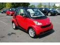 Rally Red - fortwo passion cabriolet Photo No. 1