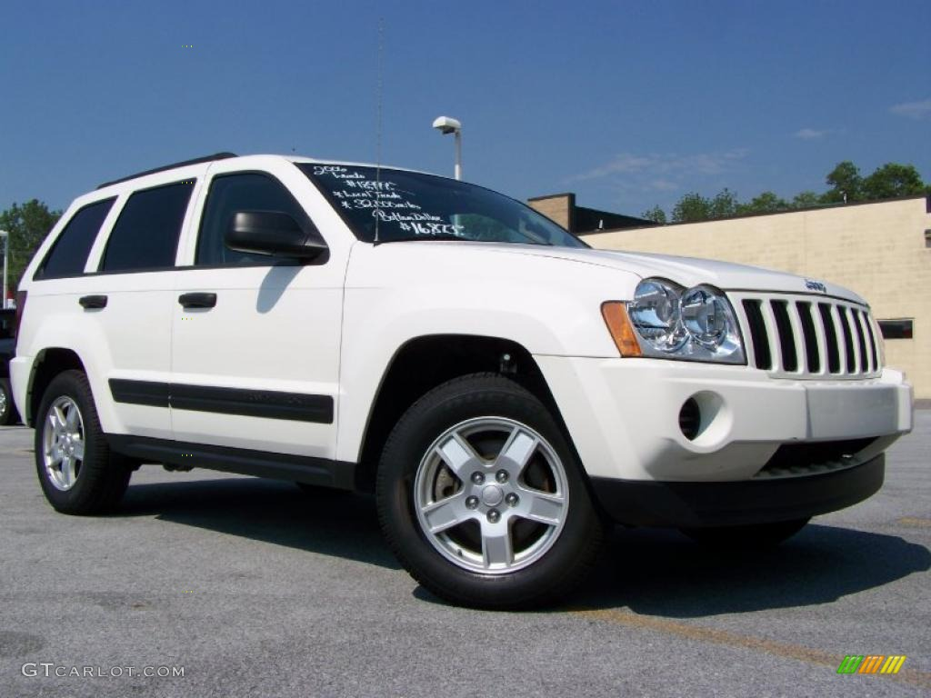 2007 Jeep Cherokee Laredo 2006 Stone White Jeep Grand Cherokee Laredo 4x4 #31643596 ...