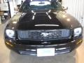 2007 Black Ford Mustang V6 Deluxe Coupe  photo #2