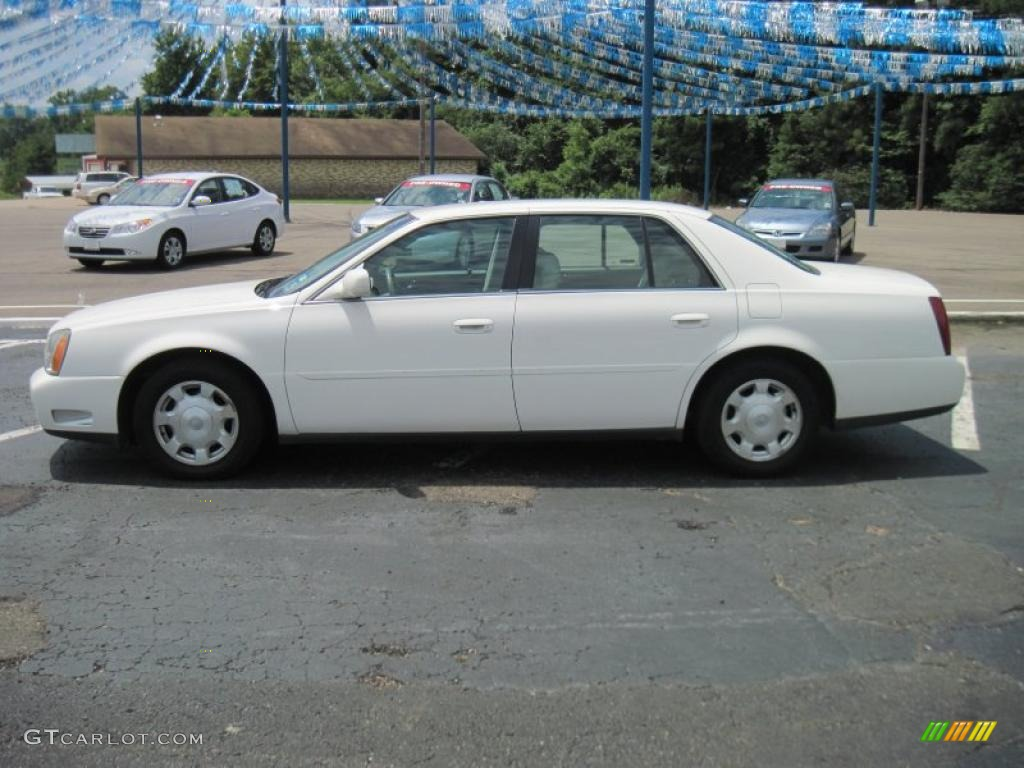 2002 white diamond pearl cadillac deville sedan 31644380. Cars Review. Best American Auto & Cars Review