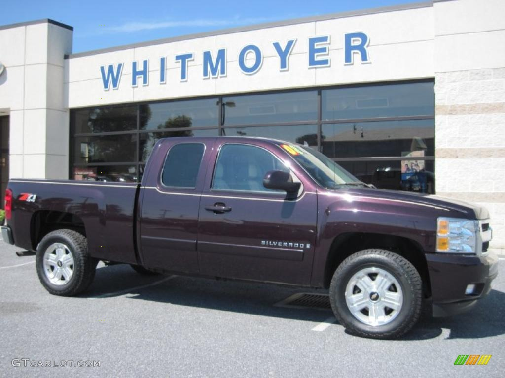 2008 Chevrolet Silverado Black Cherry | Autos Post