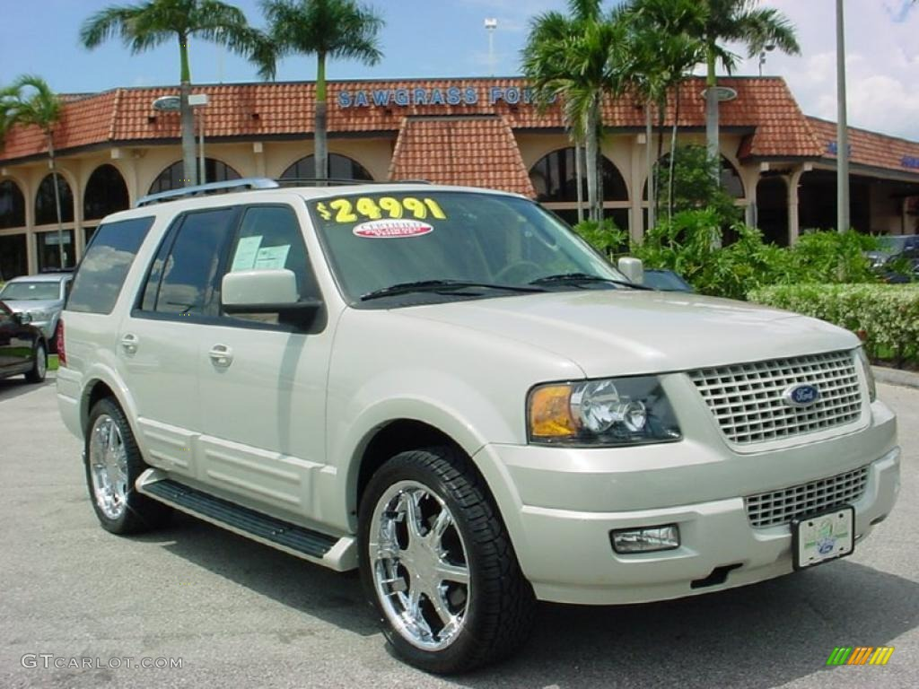 Cashmere TriCoat Metallic Ford Expedition Limited - 2006 expedition