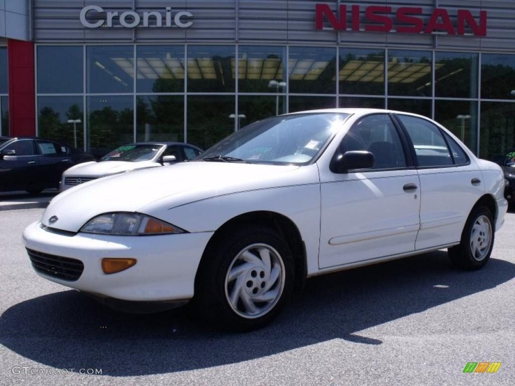 Bright White Chevrolet Cavalier Ls Sedan