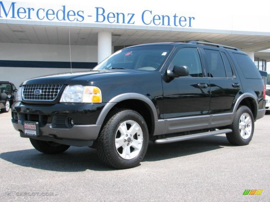 2003 black ford explorer xlt 4x4 31643992 gtcarlot com car
