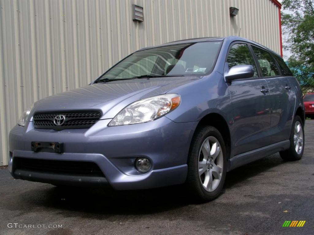 2005 cosmic blue metallic toyota matrix xr awd 31644472. Black Bedroom Furniture Sets. Home Design Ideas