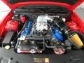 2011 Race Red Ford Mustang Shelby GT500 SVT Performance Package Coupe  photo #27