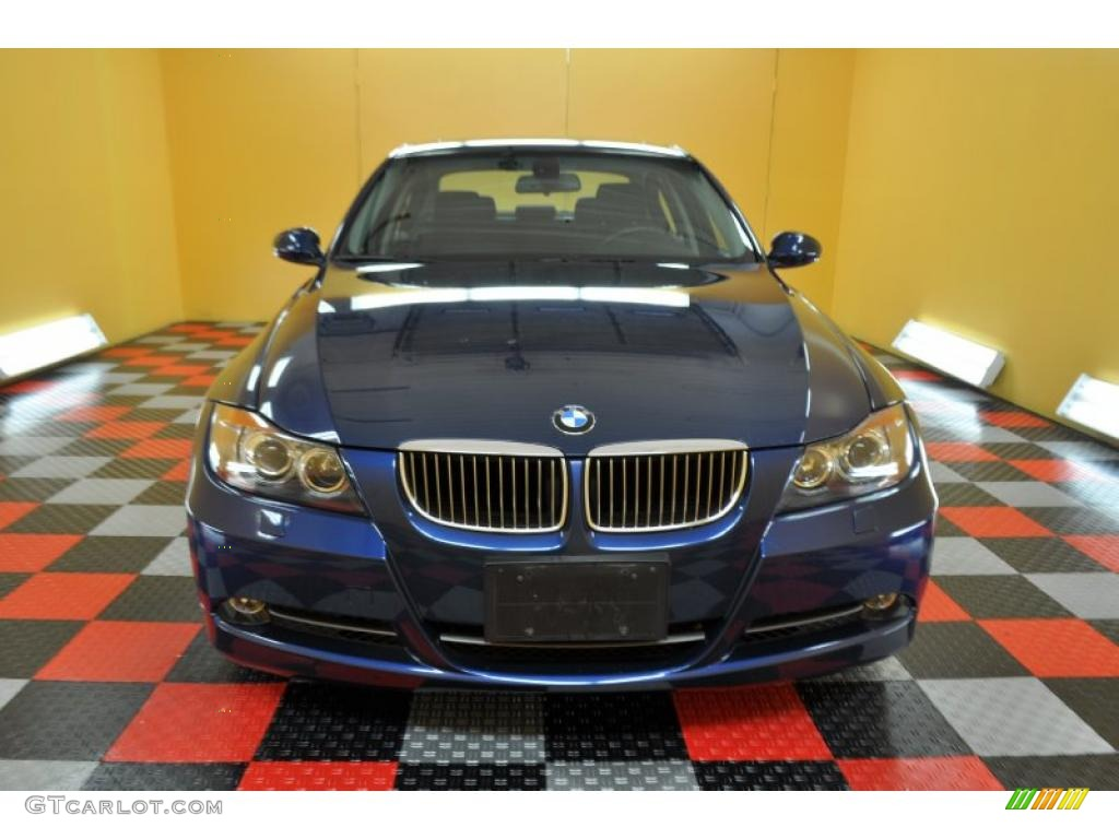 2006 mystic blue metallic bmw 3 series 330xi sedan. Black Bedroom Furniture Sets. Home Design Ideas