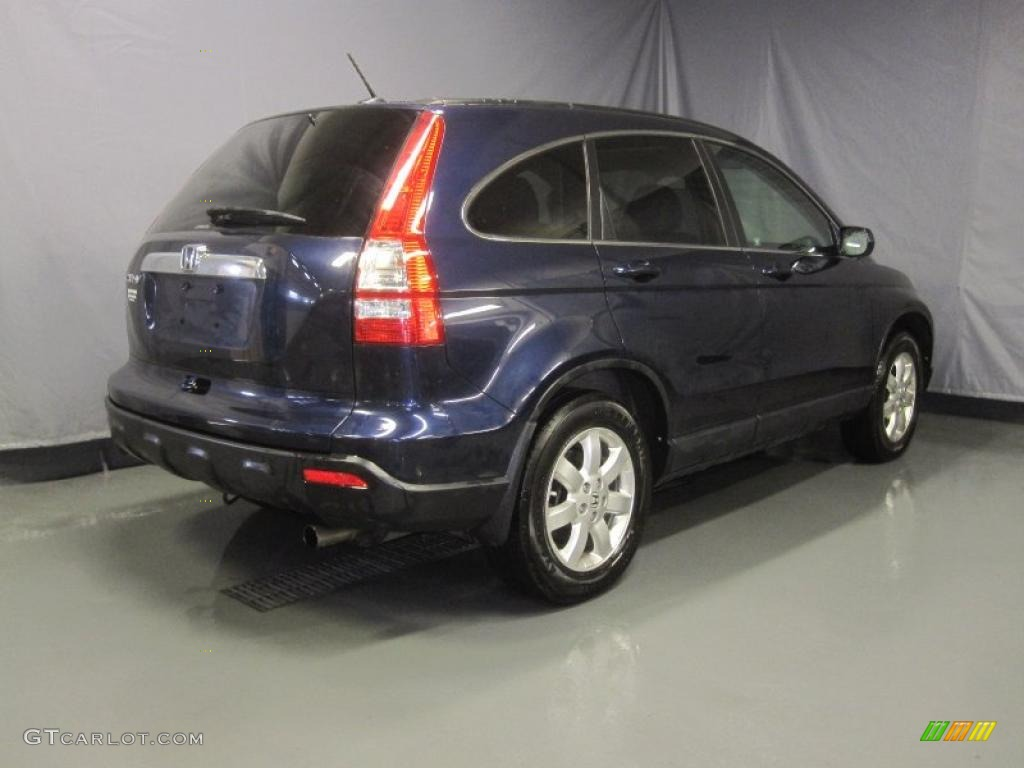 2008 CR-V EX-L 4WD - Royal Blue Pearl / Gray photo #3