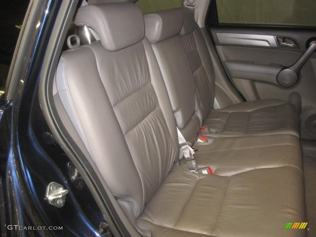 2008 CR-V EX-L 4WD - Royal Blue Pearl / Gray photo #8