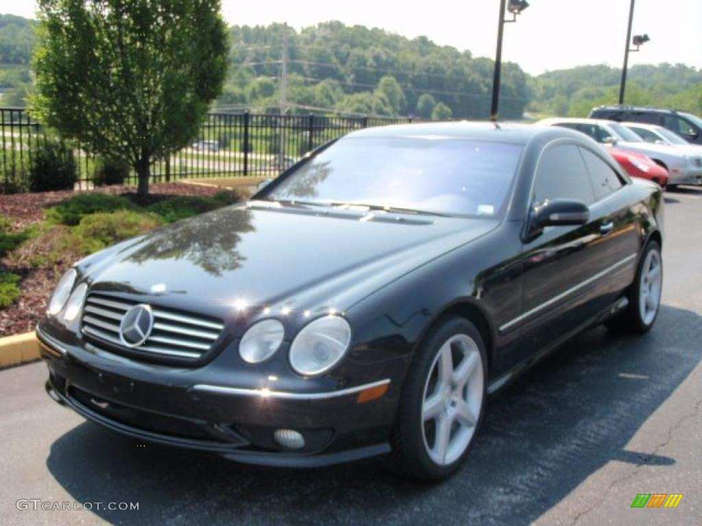 2002 black mercedes benz cl 500 31743489 car color galleries. Black Bedroom Furniture Sets. Home Design Ideas
