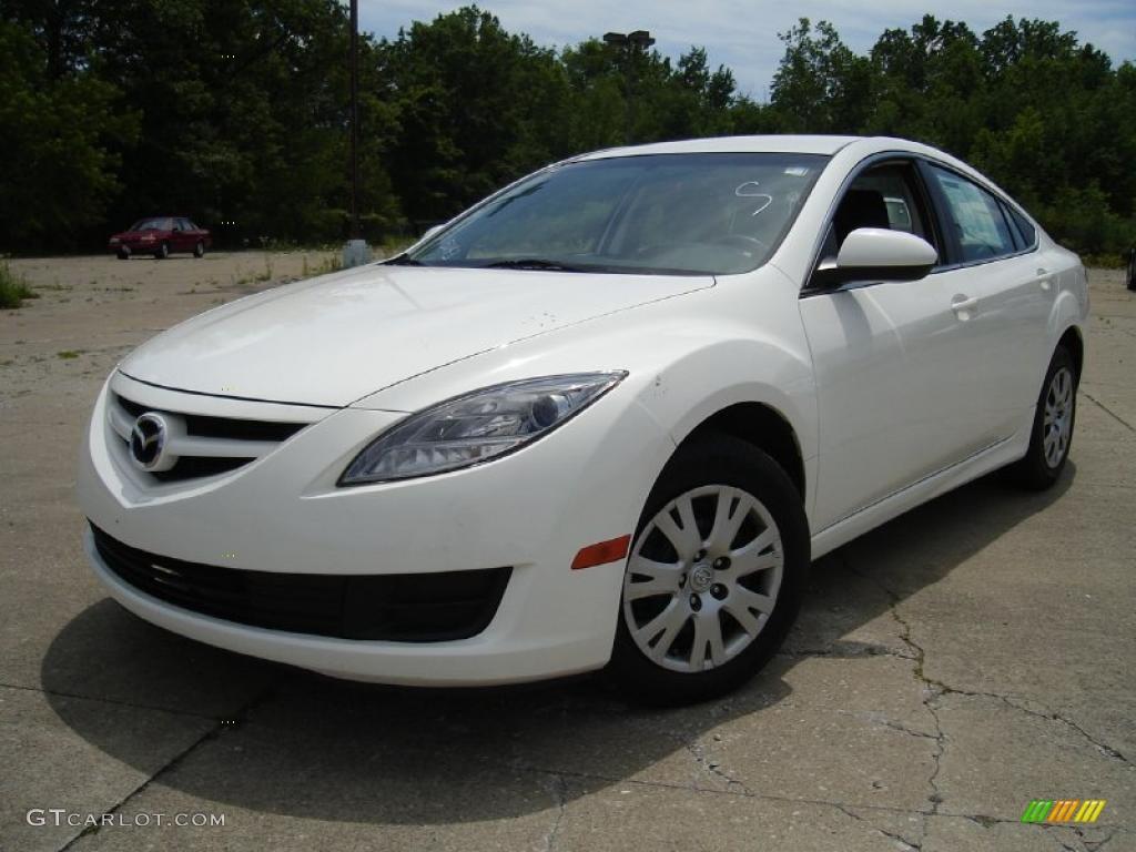 2009 Performance White Mazda Mazda6 I Sport 31743139 Gtcarlot Com Car Color Galleries