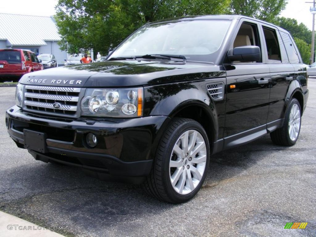2008 santorini black land rover range rover sport supercharged 31743001 car. Black Bedroom Furniture Sets. Home Design Ideas