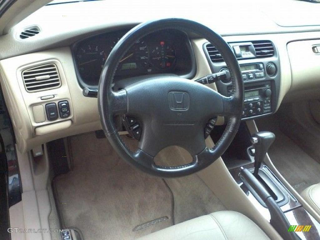 2000 Dark Emerald Pearl Honda Accord Ex V6 Coupe 31743521