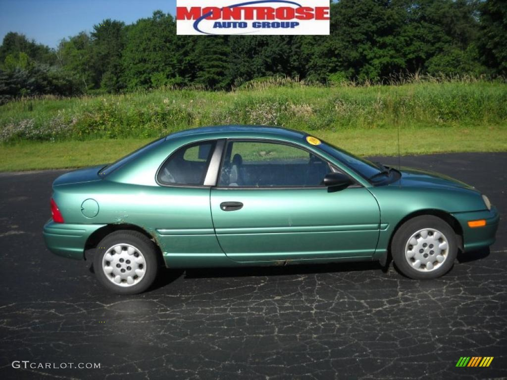 Alpine Green Pearl Plymouth Neon Highline Coupe